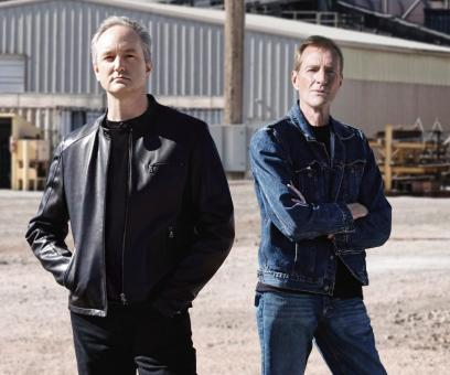 Lee Child and Andrew Child