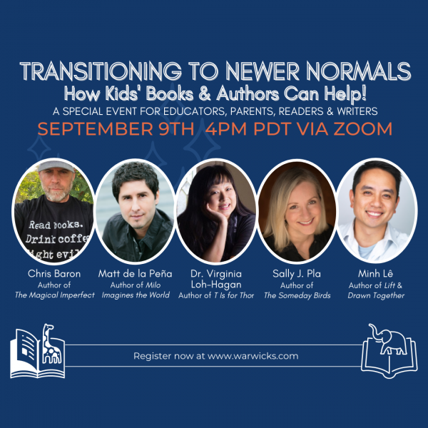 Transitioning to Newer Normals: How Kids' Books and Authors Can Help!